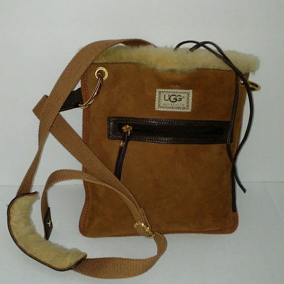 reasonably priced outlet store recognized brands Uggs crossbody bag